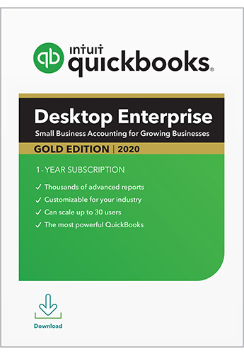 2020 QuickBooks Enterprise Gold