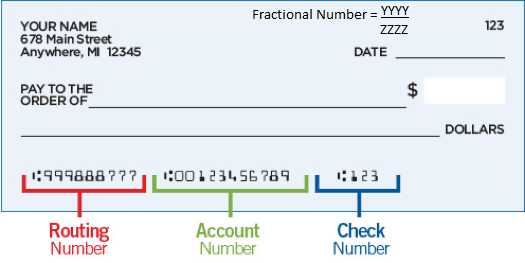 Citibank Fractional Number