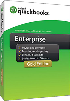 QuickBooks Enterprise 2017 Gold Edition