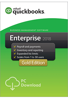 QuickBooks Enterprise 2018 Gold Edition