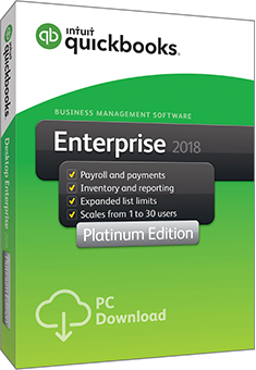 QuickBooks Enterprise 2018 Platinum Edition